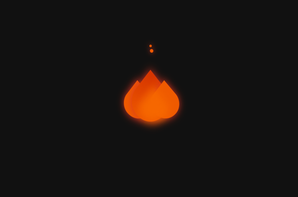 CSS Only Fire Animation Code Example