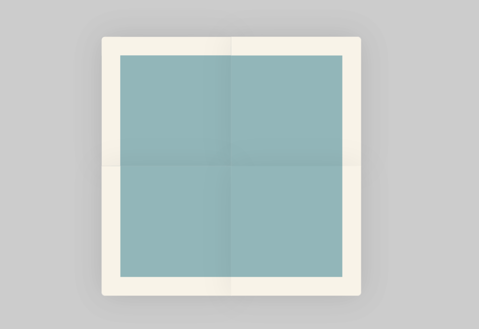 CSS3 Paper Fold Animation Effect