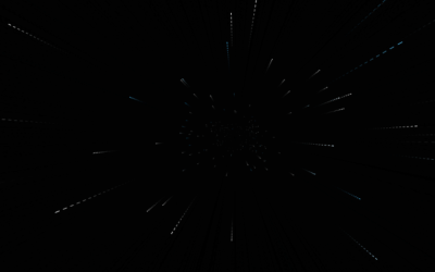 Javascript Space Travel Canvas Animation