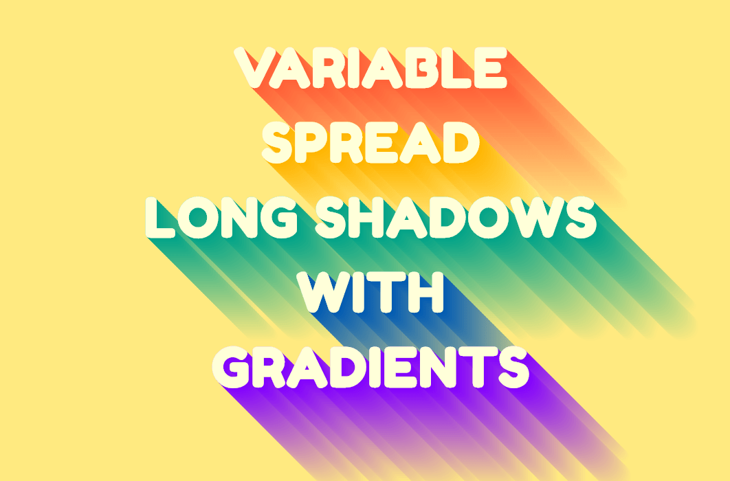 Variable Long CSS Text Shadow Examples