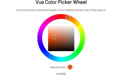 Vue Color Picker Component