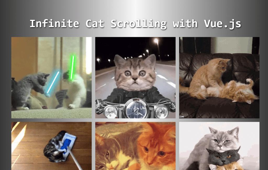 Vue Infinite Scroll Prototype Component