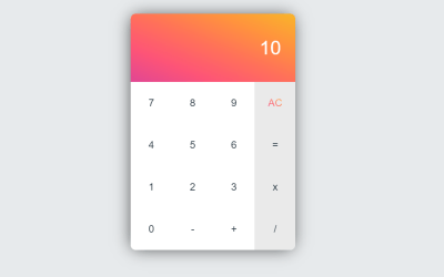 Vue JS Calculator Code Example
