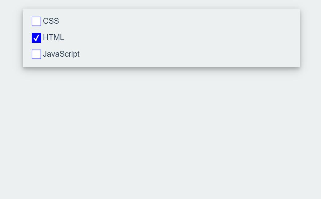 Vue JS Checkbox Component