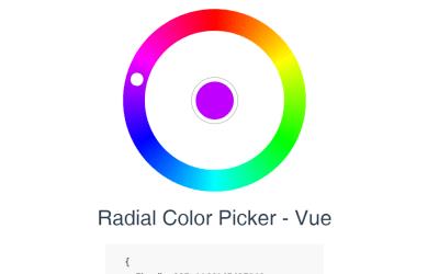 Vue JS Color Picker Example