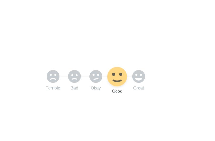 Vue.js Emoji Rating Component