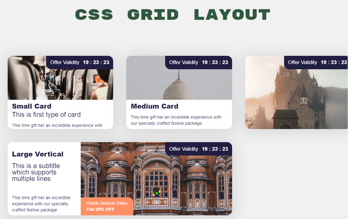Card Component React Flexbox