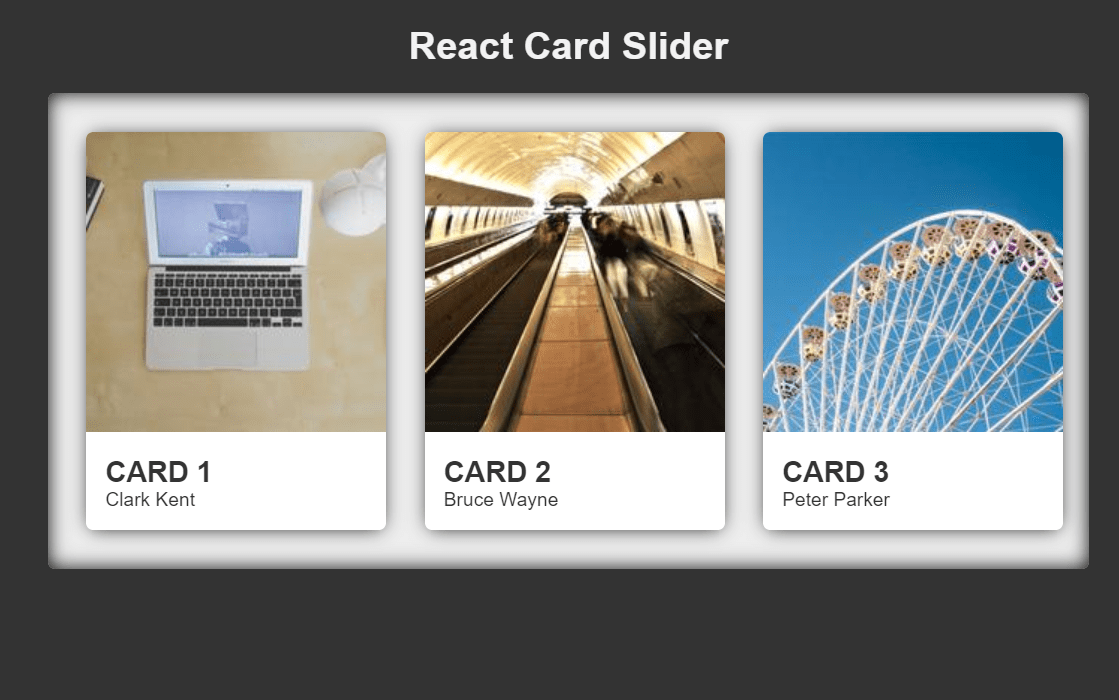 React Card Component