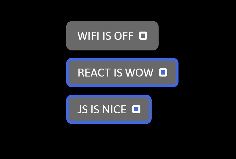 React Switch Button Component