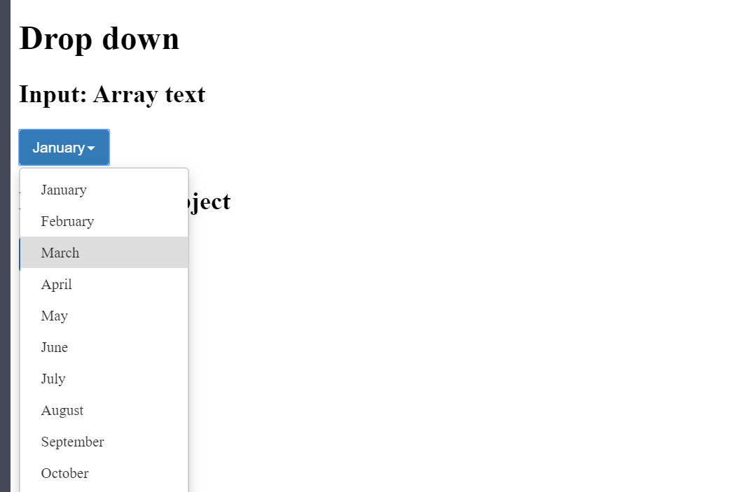 ReactJS Dropdown List Example