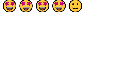 ReactJS Emoji Rating System
