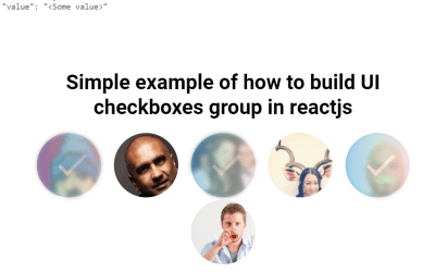 Reactjs Group Checkbox Example