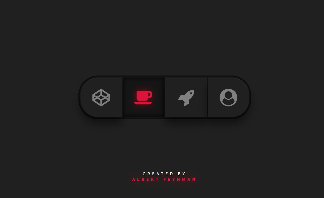 JavaScript Button Tab Menu