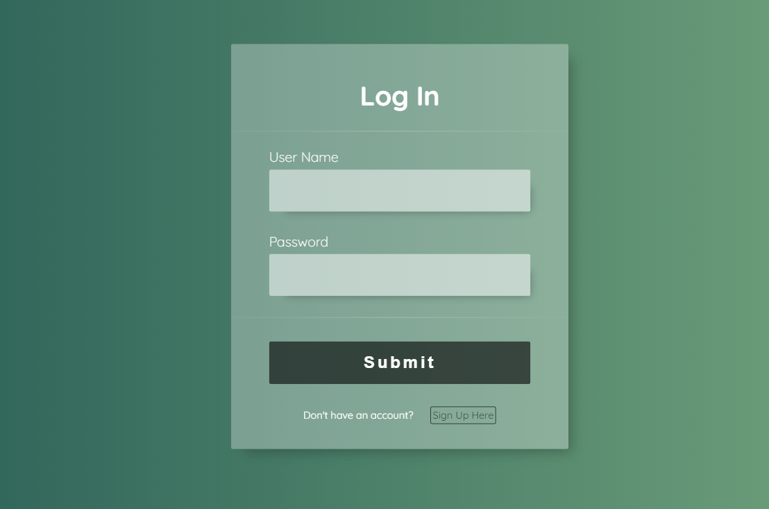 Login And SignUp Form Using React.js