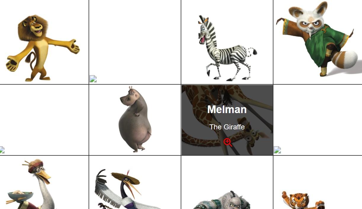 JavaScript Image Gallery Thumbnail