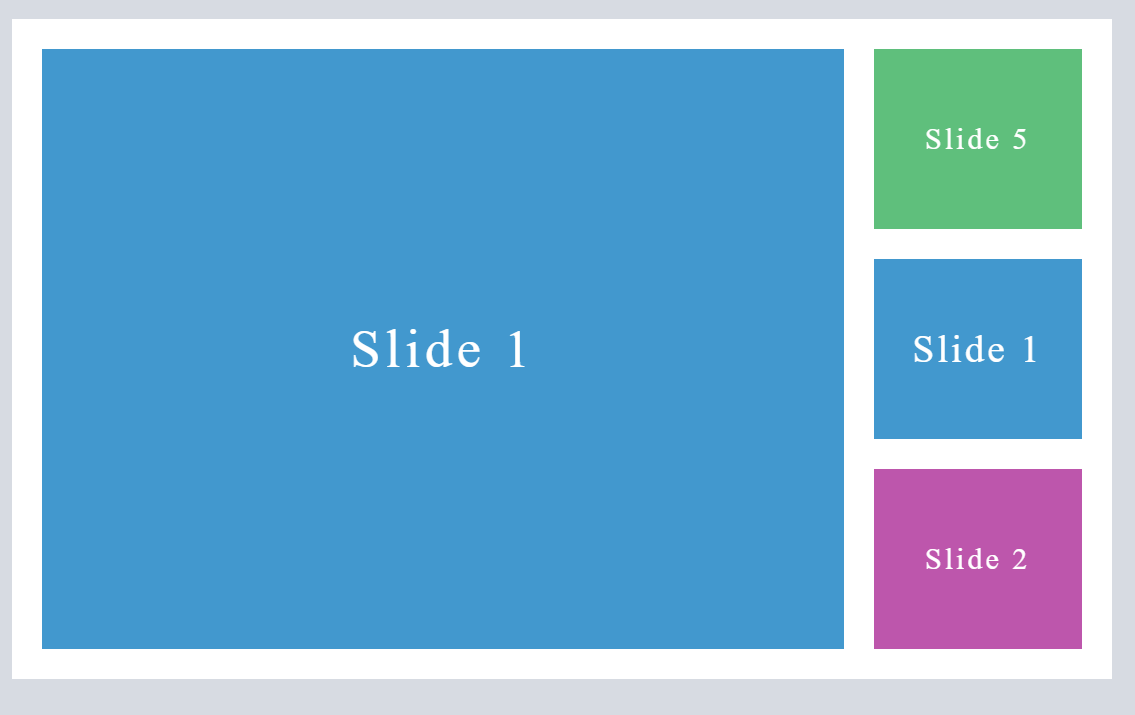 Swiper Vertical Slideshow JS and CSS