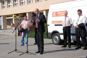 Předvolební tour v Orlové 2
