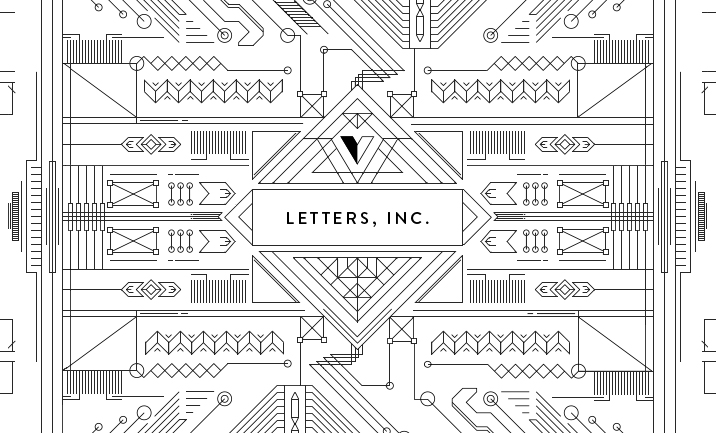 LETTERS, INC. designed by Stronghold