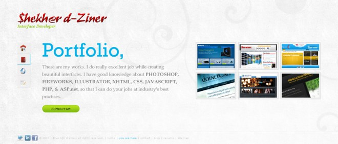 MY portfoliio page