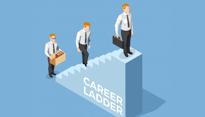 Depiction of Career Ladder | Career Options After MBA