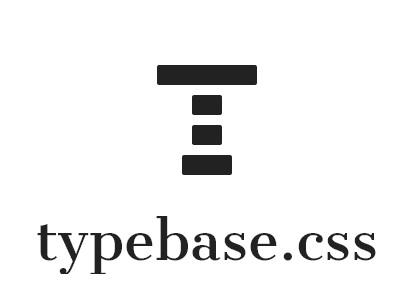 Minimal And Customizable Typography Stylesheet – Typebase.css