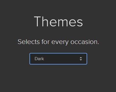 Themeable Html Select Box Replacement – select.js