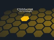 Create A 3D Hexagon Grid Layout with CSS3