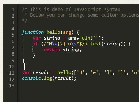 Lightweight Code Editor with Pure JavaScript – CodePrinter