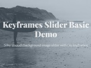 Keyframes Slider