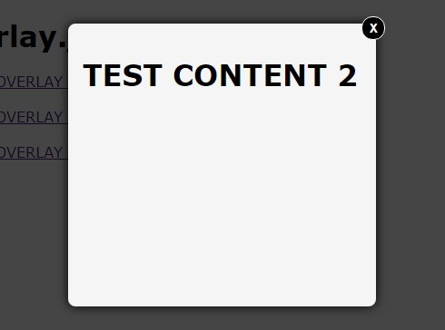 Animated Modal Window with JavaScript and CSS3 Transitions – Overlay.js