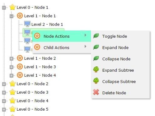 Pure Javascript TreeView Component – aimaraJS