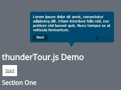 Interactive Site Tour In Vanilla JavaScript – thunderTour