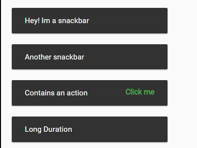 Creating Material Design Style Snackbars with JavaScript – SnackbarLight.js