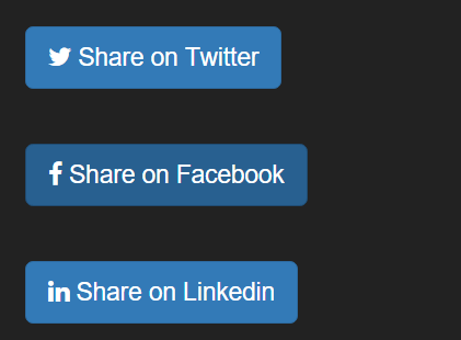 Custom Social Share Buttons with JavaScript and HTML5 – sharer.js