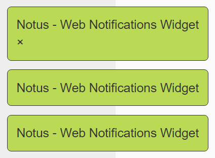Pure JavaScript Web Notifications Widget – Notus