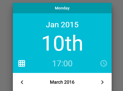 Beautiful Material Design Date & Time Picker | CSS Script
