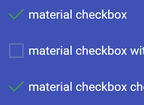 Animated Material Design Checkbox With CSS / CSS3
