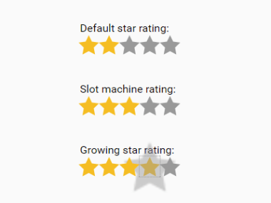 Accessible Star Rating System In Pure CSS – Starability.css