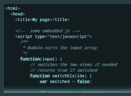 Lightweight Syntax Highlighting Library – microlight.js