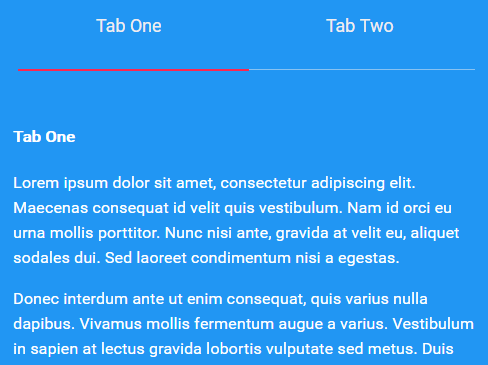 Animated Tabs Component With Radio Inputs And CSS