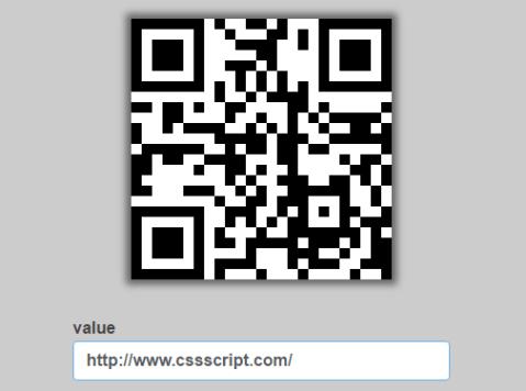 Pure JavaScript QR Code Generator – QRious