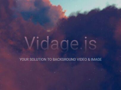 Mobile-friendly Background Video Solution – Vidage.js