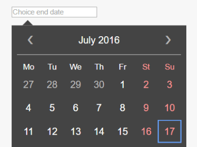 Lightweight Pure JavaScript Date Picker library – DatePickerX