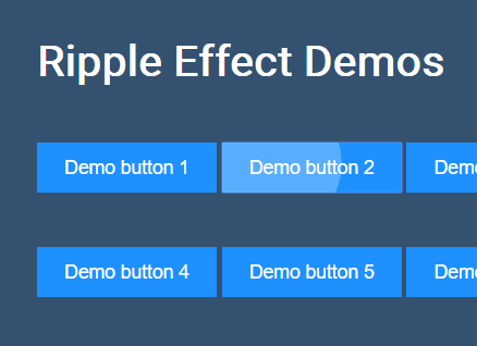 Material Design Ripple Click Effect In Vanilla JavaScript – ripple.js