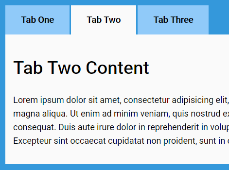 Responsive CSS Only Accordion & Tabs Component | CSS Script