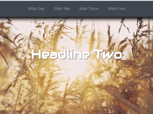 CSS Only Responsive Horizontal Slider