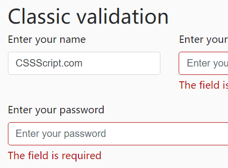 7 Best Pure JavaScript Form Validation Libraries For 2019 - CSS Script