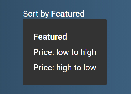 how to create a dropdown with javascript