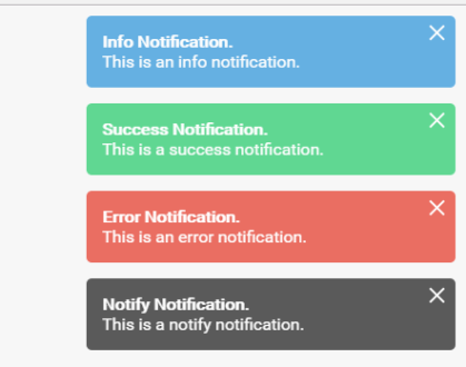 Native Javascript Growl Notification Library – Vanilla Notify