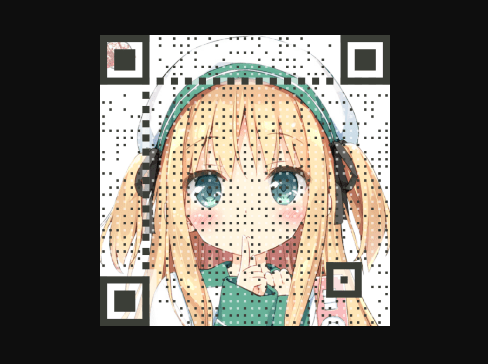 Pretty QR Code Generator With Background Image Support – Awesome-qr.js